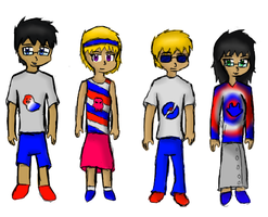 Americastuck!Designs: Beta Kids by RMAfan101
