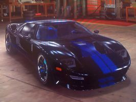 Ford GT front by EmothXIII