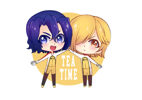 T2 - TEA TIME by Cure-Rainbow