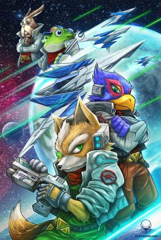 Space Animals by Pertheseus
