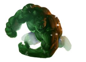Hulk / just a speed painting by antoniodeluca