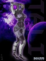 Tali Pin-up by Garlador