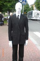 Animecon 2013 ~ Slenderman cosplay by xXGiggleDeathProXx