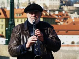 Musician on Charles B. by Vrbize