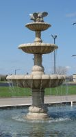 Stone Dove Fountain by FantasyStock