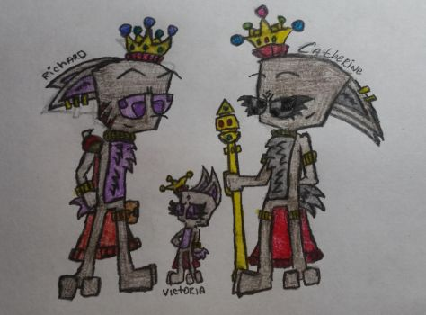 Members of the royal family by JammxRebinson