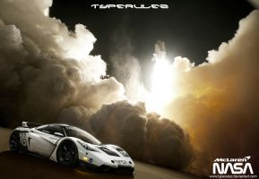 mclaren F1 NASA by typerulez