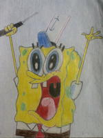 Spongebob Surrenders  by regularshow96