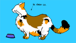 'An obese cat'- for Miranda by Fohat