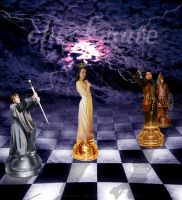 Chess war-Checkmate by Fawania