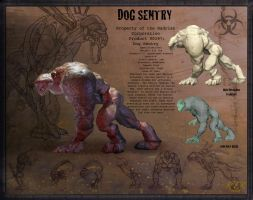 The Dog Sentry by ViciousLion