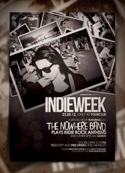 Indie Poster Template Vol. 4 by IndieGround