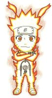 Chibi Naruto Nine-Tailes Chakra Mode by Gallade007