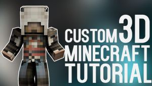 3D Minecraft characters in C4D by Robot-Panda22