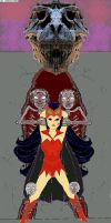 Catra Slime Slave pt2 'a' by acronoid76