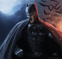 Batman by thomaswievegg