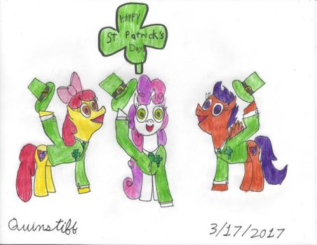 Happy St. Patrick's Day! by Quinstiff