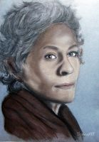 Carol, Walking Dead by DrowseART