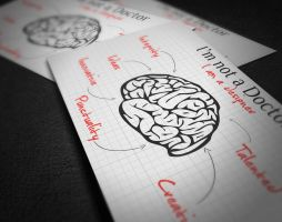 Juicy Brain Business Card No.2 by KaixerGroup