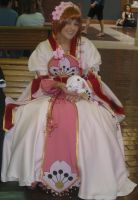 Cosplay Check:Princess Sakura by Rhythm-Wily