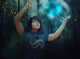 Magic and Fireflies by secretagentinsanity