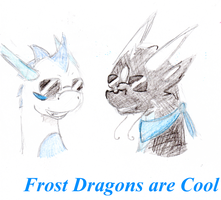 Frost Dragons are Cool by MudZakip