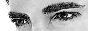 Edward Cullen Detail Eyes by LenaStinke