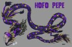 Kaiju Commission - Hofo Pepe (night skin) by Bracey100