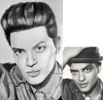 Bruno Mars by Thessa-drawings