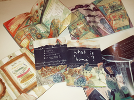 What is 'home'? - zine by anja-uhren