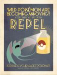 Repel advertising poster by Chuz0r