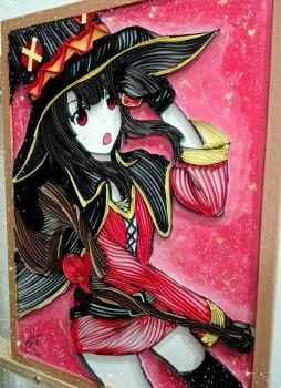 Quilling Megumin by Txtze