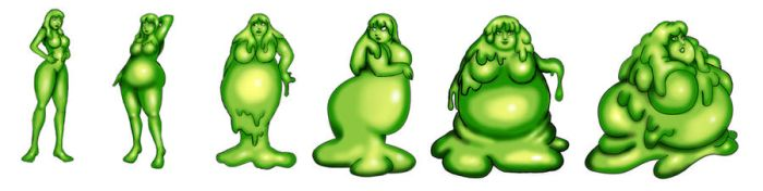 claire slime girl tf sequance by LordAltros