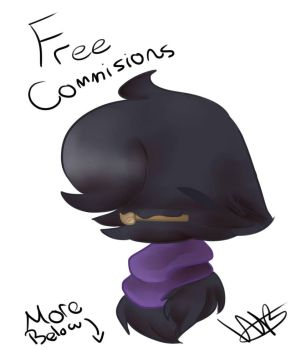 Free Commissions! **Closed and Postponed** by BinuBoi