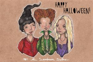 the sanderson sisters by Endofmarch