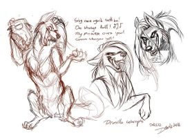 Commission: Devy-kins -sketch / concept- by SilverDeni