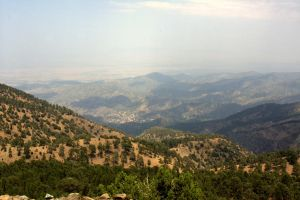 The Troodos Mountains by cathy001