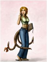 Art Trade - Cat Tail x 3 by SirTiefling