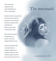 The sad mermaid by crayonmaniac