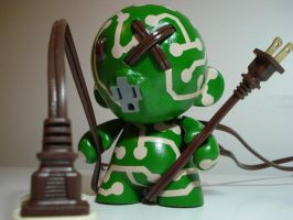 Roots Custom Munny by gagum