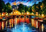 Amsterdam - the release of happinness by L.Afremov by Leonidafremov