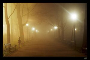 The City of Fog 1 by Azifaral