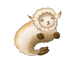 Toasted Marshmallow Woolie DTA [CLOSED] by Aberleigh