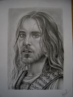 Jared Leto as Hephaistion by KateFrankienaBeck