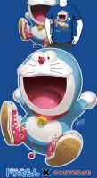 Doraemon's got some kicks by theCHAMBA