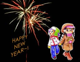 HAPPY NEW YEAR 2011 by 100Kira100