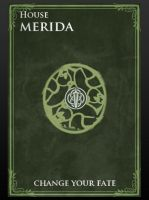 Game of thrones coat of arms Merida by Lady--knight