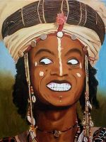 Wodaabe Beauty contest by Fred-Weasley