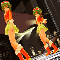 MMD Chibi Gumi Whisper - Debut Appearance by Trackdancer