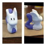 Clay Mewtwo finished!!  by zoozybeencloned